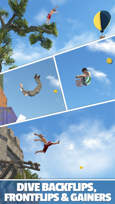 Screenshot from Flip Diving