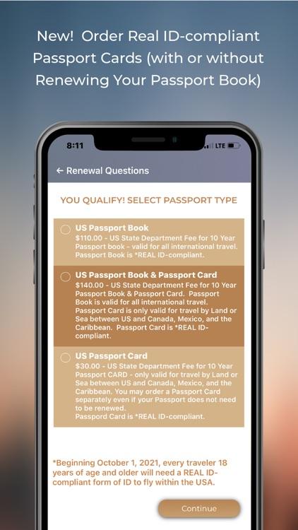 ItsEasy Passport Renew & Photo screenshot-3