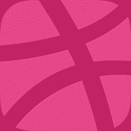 Ícone do app Dribbble