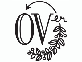 the OVer company Stickers
