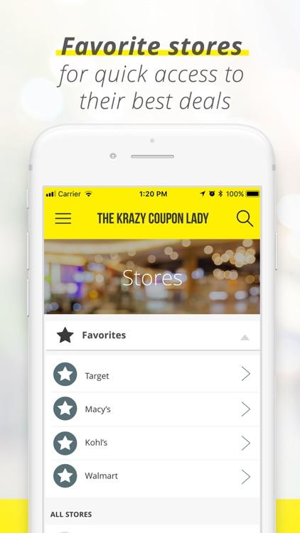 Krazy Coupon Lady: Shop Deals