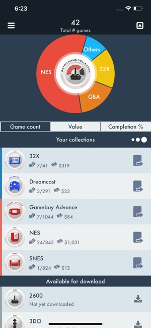 Retro Game Collector on the App Store