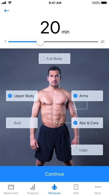 Runtastic Results Bodyweight screenshot-0