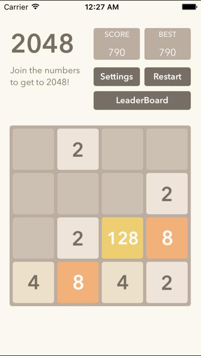2048 - Best Puzzle Gamesのおすすめ画像1