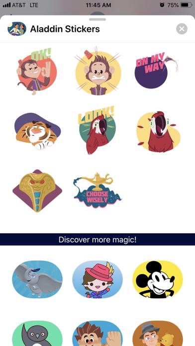 Disney Stickers: Aladdin screenshot 2