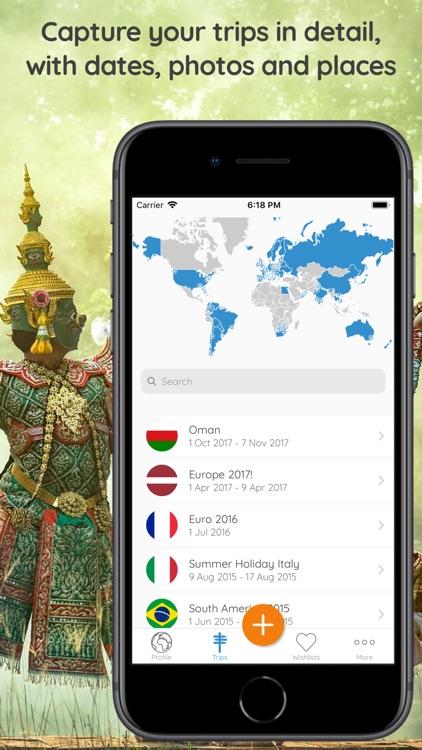 Memento - Map Your Travels screenshot-5