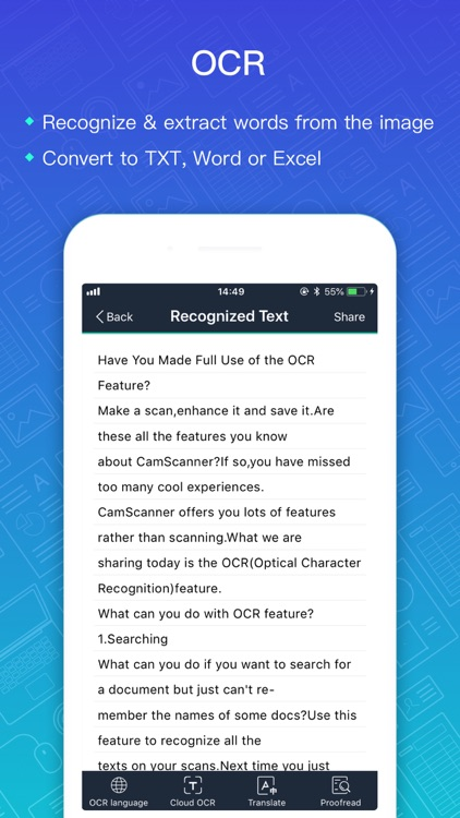 CamScanner + | OCR Scanner screenshot-6