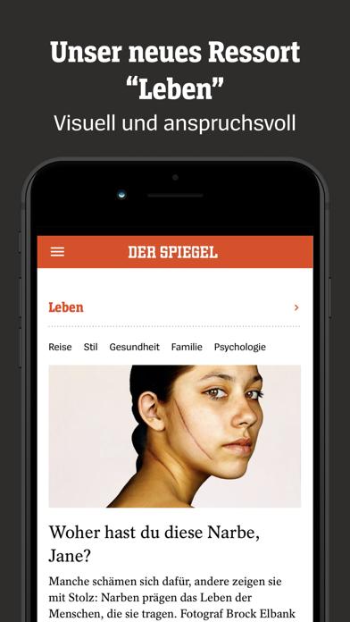 DER SPIEGEL Screenshot
