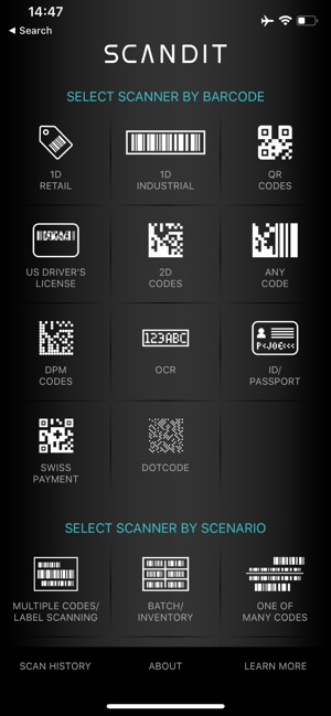Scandit Barcode Scanner on the App Store