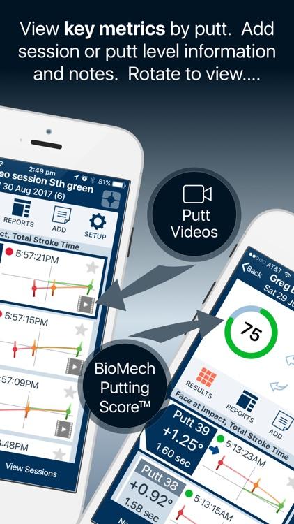 BioMech Golf screenshot-3