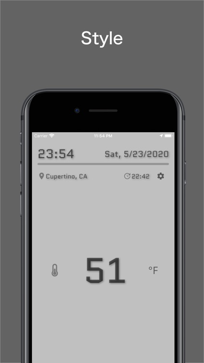 Thermometer S