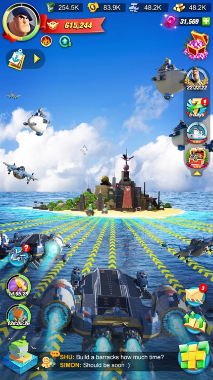 Sea Game: Mega Carrier screenshot-4