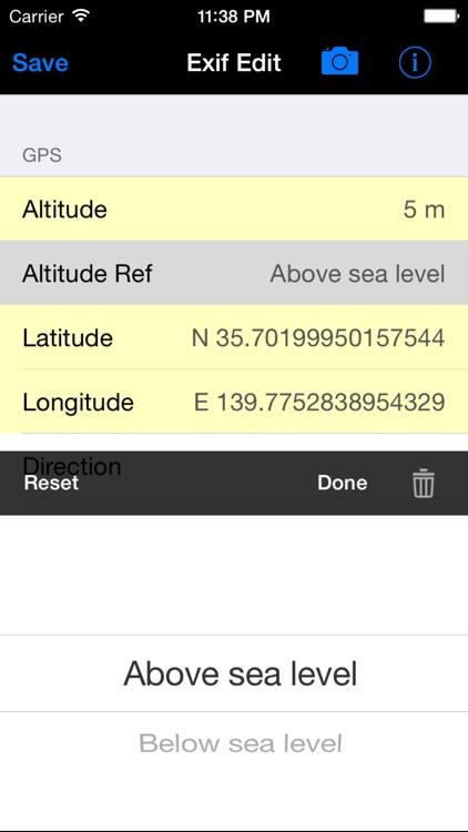 Exif Edit Lite screenshot-4