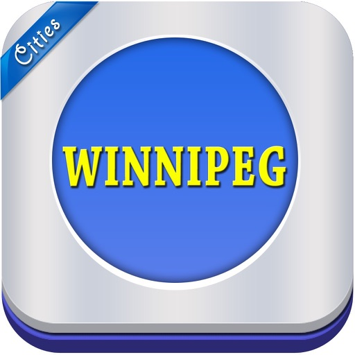 Winnipeg Offline Travel Map