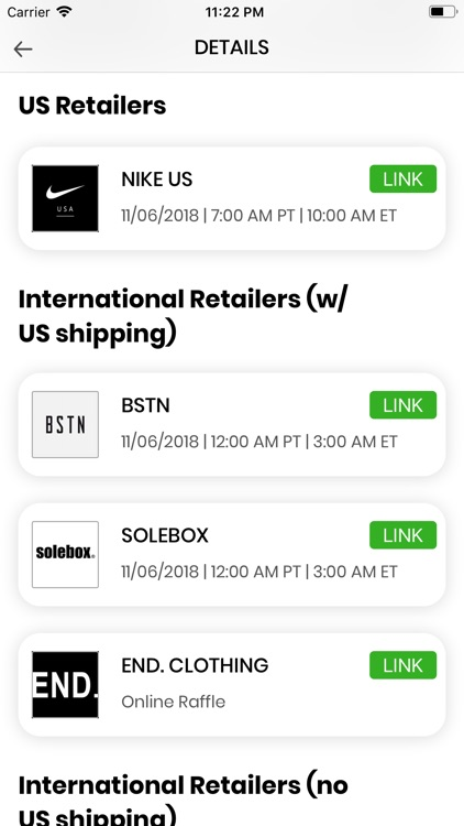 SOLE LINKS screenshot-3