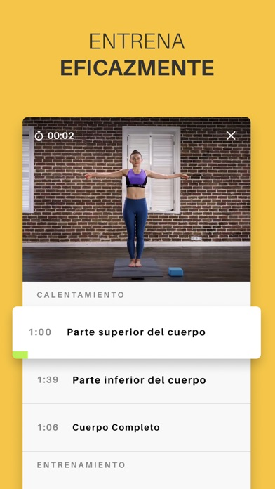 Screenshot for Yoga-Go: Ejercicios en Casa in Colombia App Store