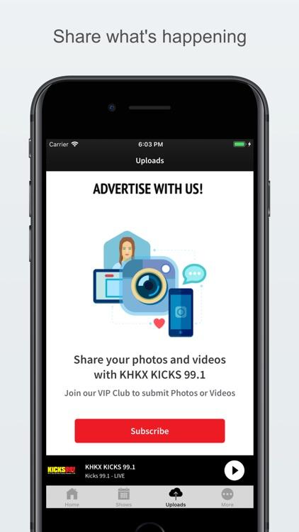 KHKX KICKS 99.1 screenshot-3