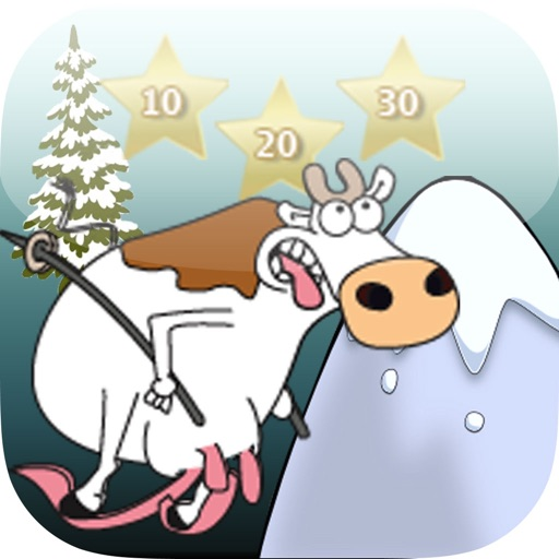 The Crazy Skiing Cow LT