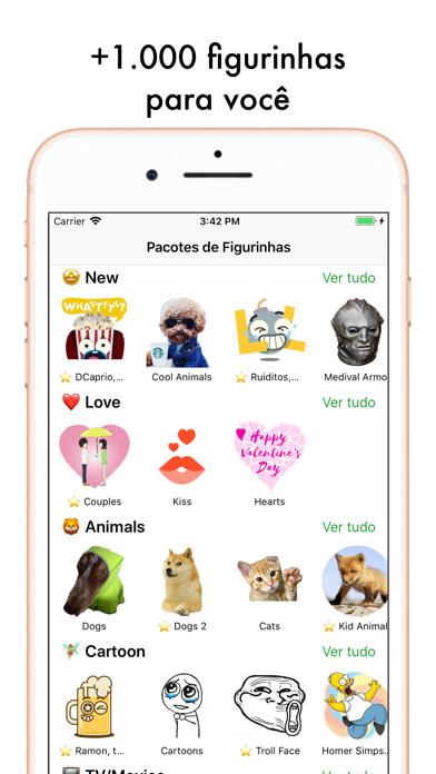 Screenshot for Top Figurinhas Memes Adesivos in Brazil App Store
