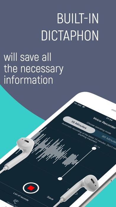 Listening device, Hearing aids Screenshot