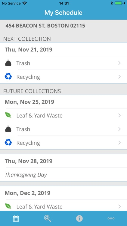 Boston Trash Schedule & Alerts