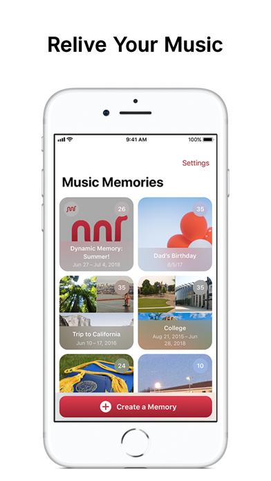 Music Memories Screenshots