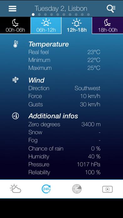 Weather for Portugalのおすすめ画像3
