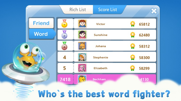 Word Fight - new spelling game screenshot-3