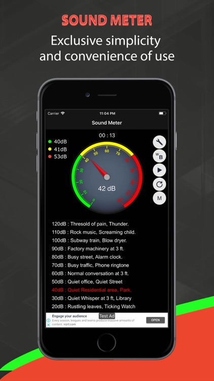 Real Sound Meter screenshot-2