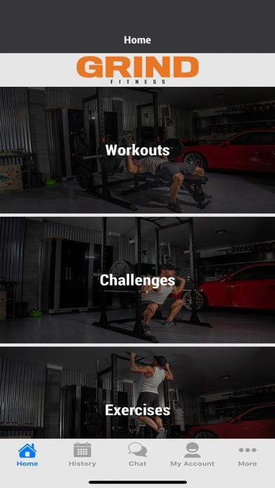 messages.download Grind Fitness software