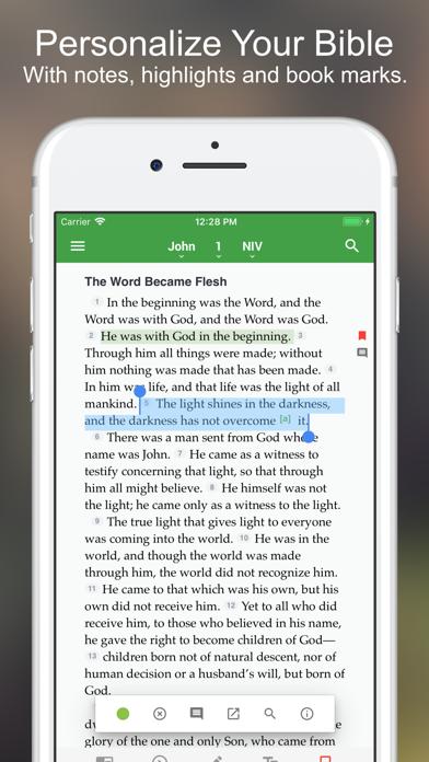 The One Bible App Screenshot
