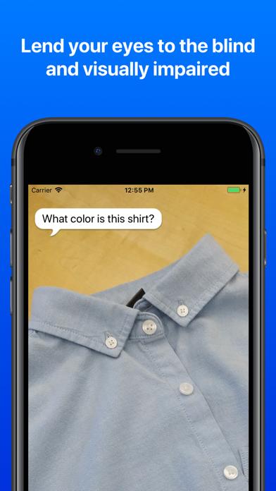 Screenshot for Be My Eyes – Helping blind see in Venezuela App Store