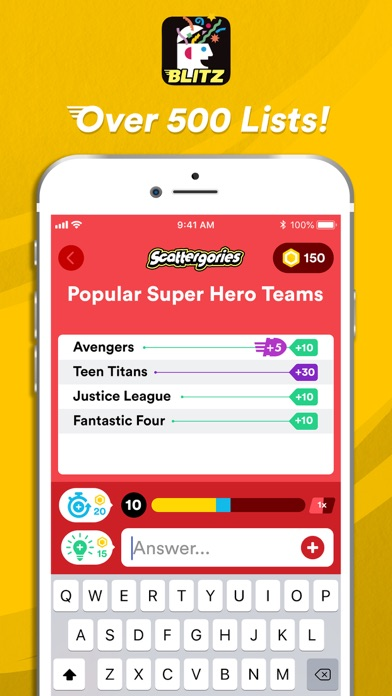 Scattergories Blitz wiki review and how to guide