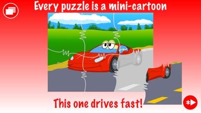 Trucks JigSaw Puzzle for Kidsのおすすめ画像1