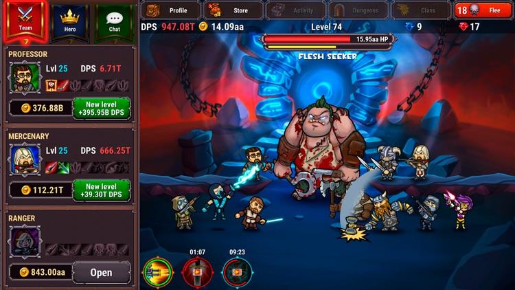 Taptic Heroes: Monsters Attack screenshot-4