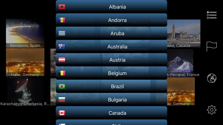 Earth Online: Live Webcams Pro screenshot-7