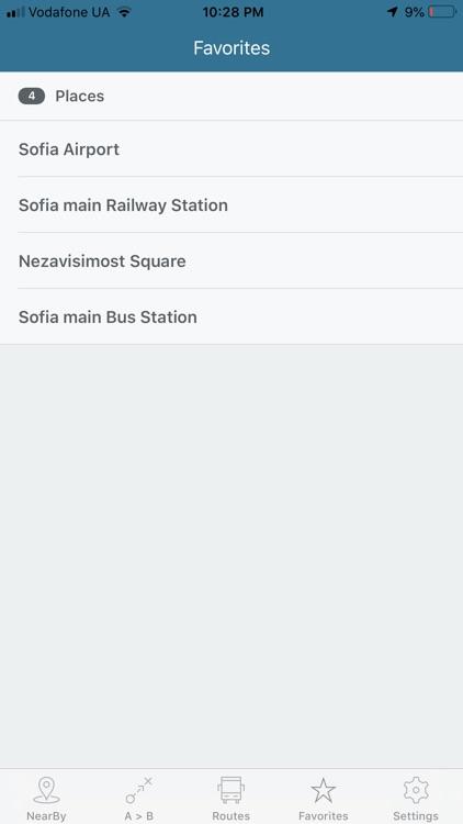 Eway public transport screenshot-7