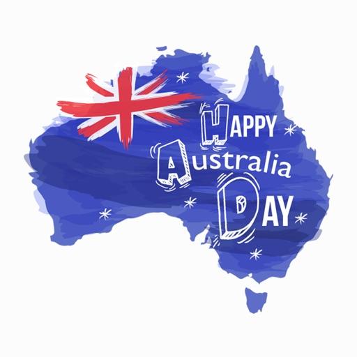 Australia Day Stickers