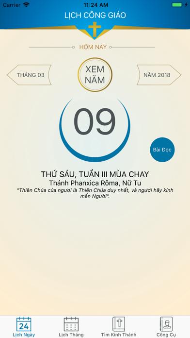 Lich Cong Giao screenshot one