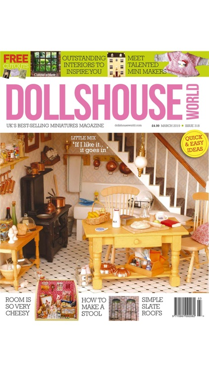 Dollshouse World Magazine screenshot-3