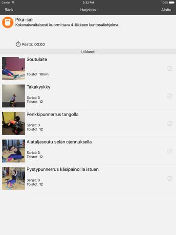 FysiApp Training - náhled