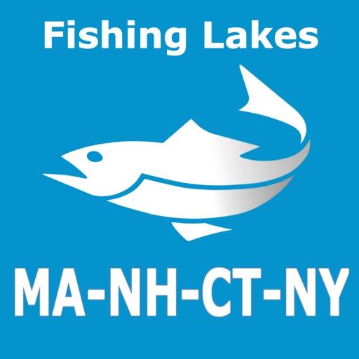 New York, CT, MA, NH Fish Lake