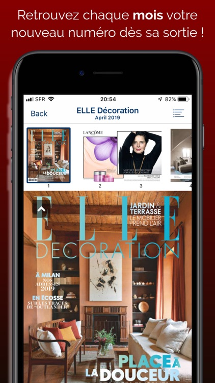ELLE Décoration Magazine screenshot-0