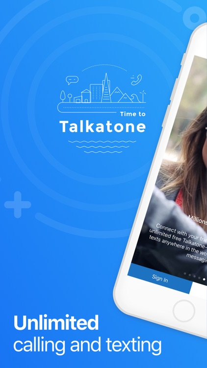 Talkatone: WiFi Text & Calls screenshot-0