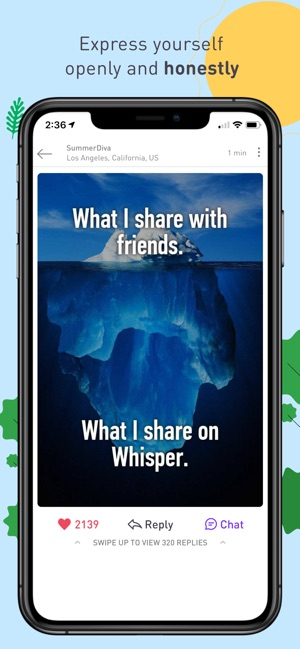 Whisper - Share, Express, Meet Screenshot