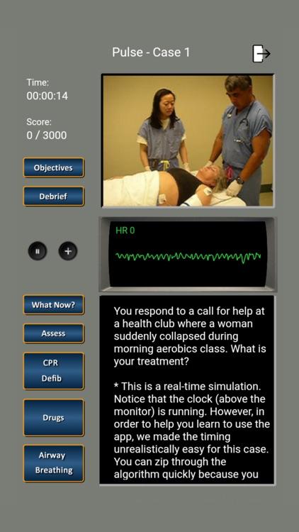 ECG Rhythms and ACLS Cases screenshot-4