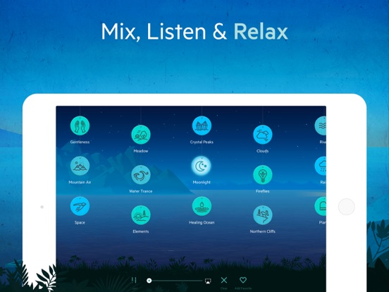 Relax Melodies HD: Sleep zen sounds & white noise for meditation, yoga and baby relaxation screenshot
