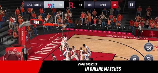 5713cd825b2  NBA LIVE Mobile Basketball on the App Store