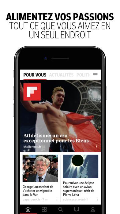 Flipboard : créer votre propre Magazine Social-capture-1