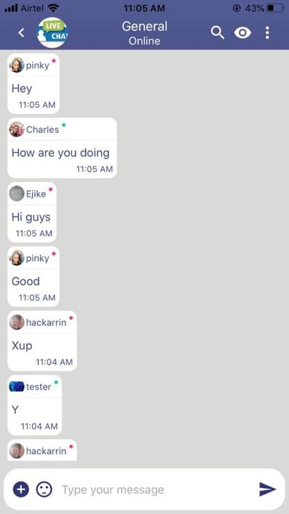 KV ChatRoom screenshot-7